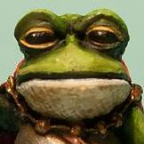 painting frog