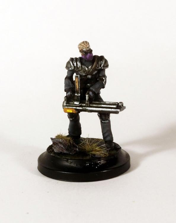 Hex Gunman (mit Gatling Gun)
