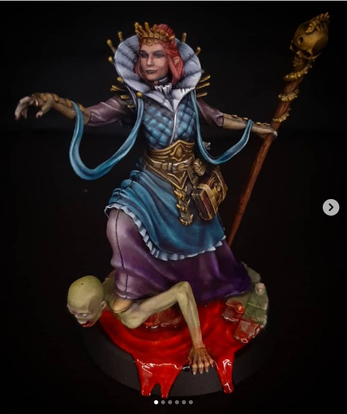 """Screenshot 2021-09-30 at 23-54-14 Seidenzopf_Painting auf Instagram """"WIP of my first 75 mm miniature Necromantress by loot [...].png"""