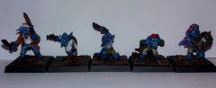 Blue Gobos